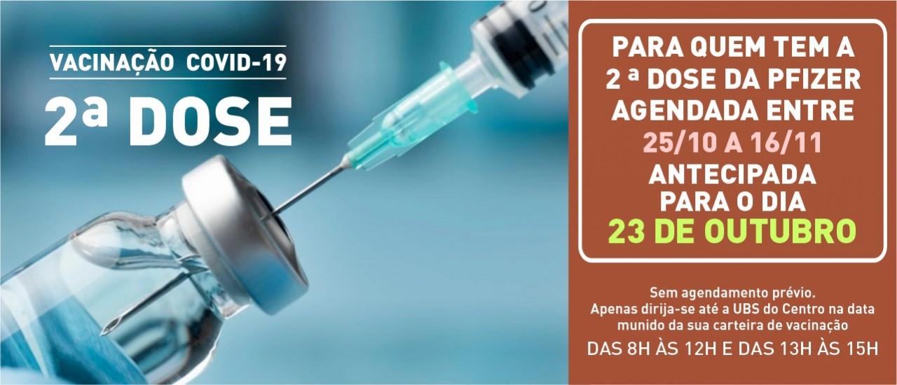 Vacina - 2ª dose