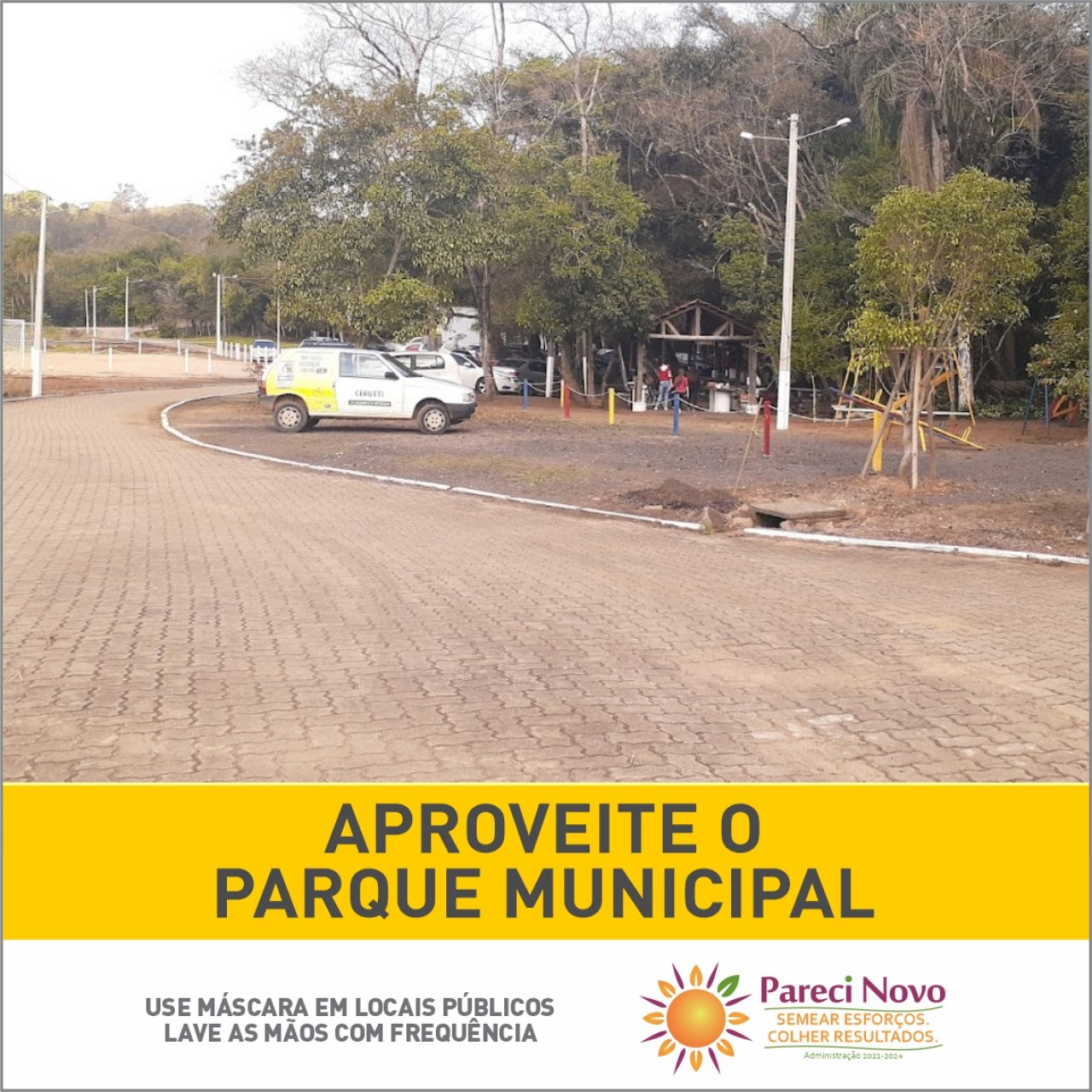 Aproveite o Parque Municipal