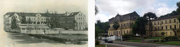 Foto antiga do Seminário / Foto Seminário São José tombado.