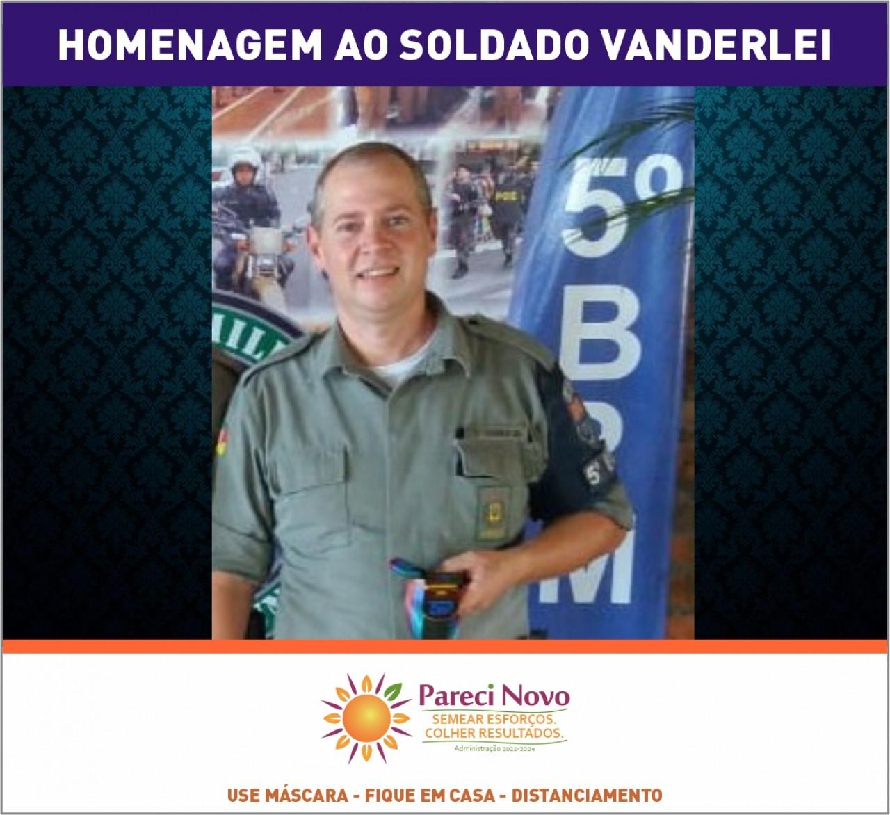 Homenagem ao Soldado Vanderlei