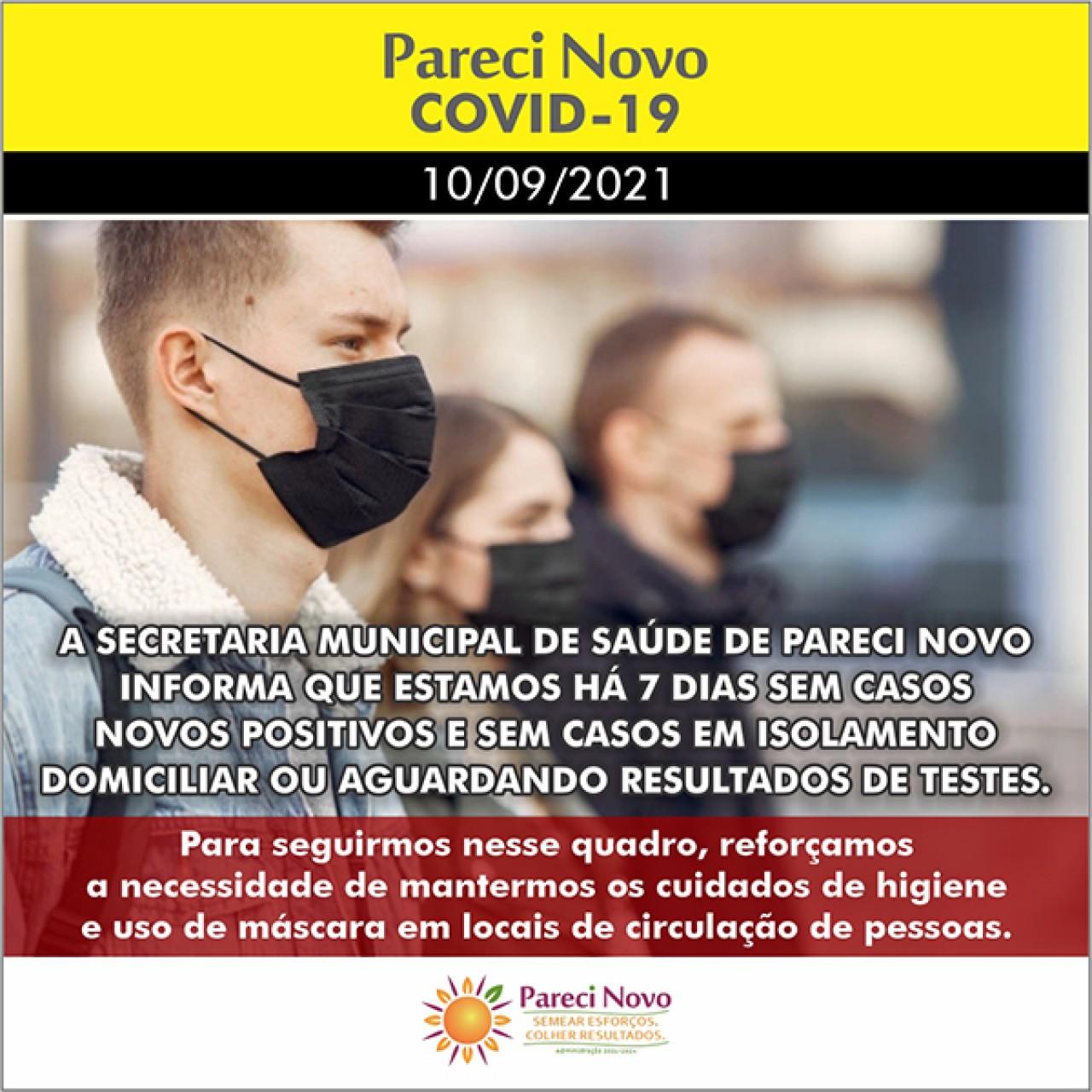 Informativo Covid-19 Pareci Novo