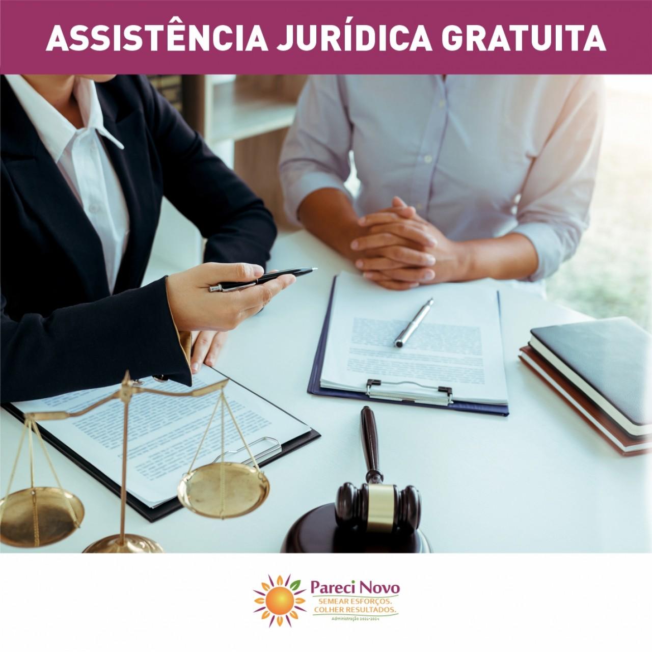 Pareci terá assistência jurídica gratuita de 18 a 20 de outubro